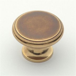 "Knob, Polished Antique, 1-1/2"" Diameter, 1165PA"