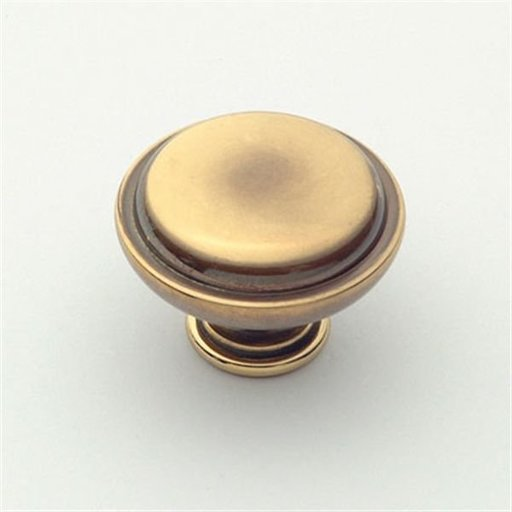 "View a Larger Image of Knob, Polished Antique, 1-1/4"" Diameter, 1145PA"