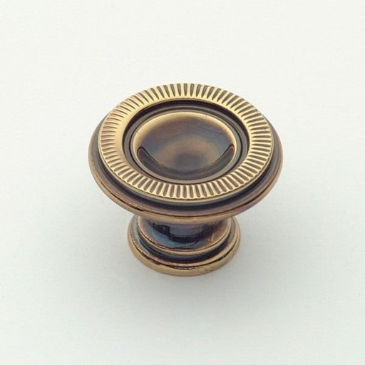 View a Larger Image of Knob, Polished Antique, 30 mm Diameter, 1170PA