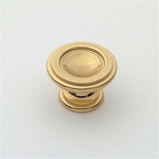 View a Larger Image of Knob, Polished Brass, 25 mm Diameter, 1169PB