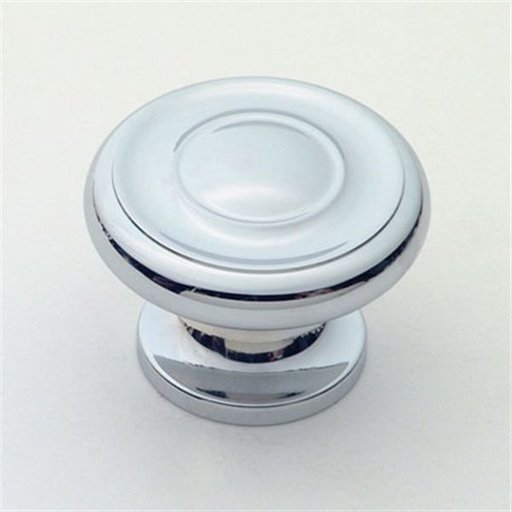 "View a Larger Image of Knob, Polished Chrome, 1-1/2"" Diameter, 1050PC"