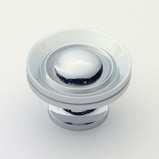 "View a Larger Image of Knob, Polished Chrome, 1-1/2"" Diameter, 1056PC"