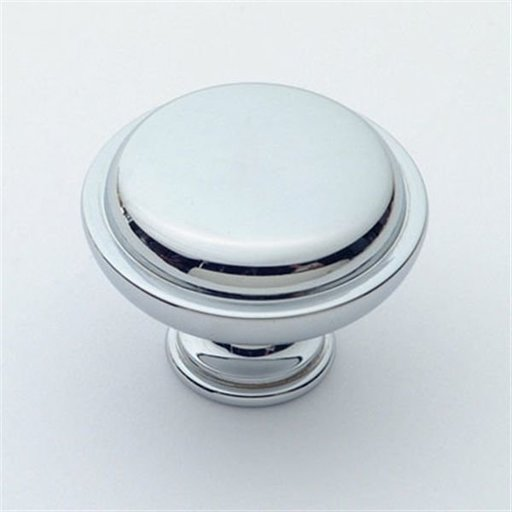 "View a Larger Image of Knob, Polished Chrome, 1-1/2"" Diameter, 1146PC"