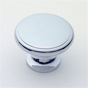 "Knob, Polished Chrome, 1-1/2"" Diameter, 1165PC"