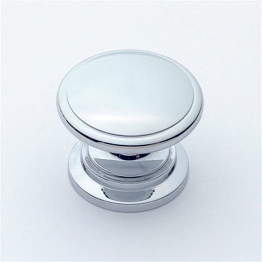 """View a Larger Image of Knob, Polished Chrome, 1-1/4"""" Diameter, 1019PC"""