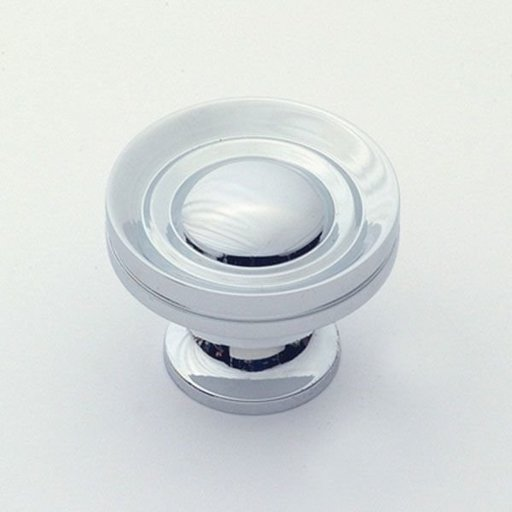 "View a Larger Image of Knob, Polished Chrome, 1-1/4"" Diameter, 1055PC"