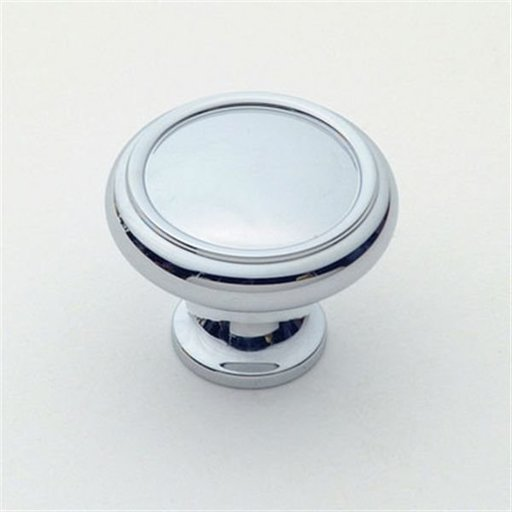 """View a Larger Image of Knob, Polished Chrome, 1-1/4"""" Diameter, 1151PC"""