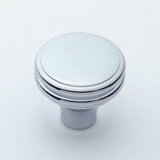 """View a Larger Image of Knob, Polished Chrome, 1-1/4"""" Diameter, 1154PC"""
