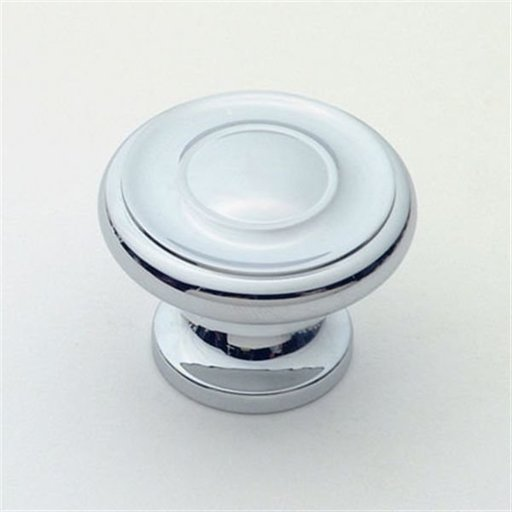 """View a Larger Image of Knob, Polished Chrome, 1-3/8"""" Diameter, 1048PC"""