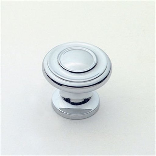 """View a Larger Image of Knob, Polished Chrome, 1"""" Diameter, 1047PC"""