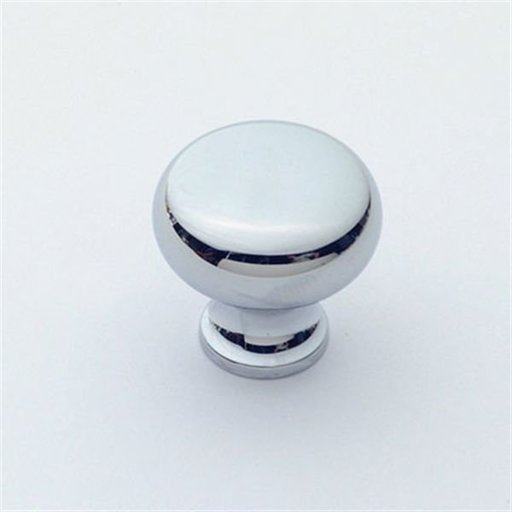"""View a Larger Image of Knob, Polished Chrome, 1"""" Diameter, 1067PC"""