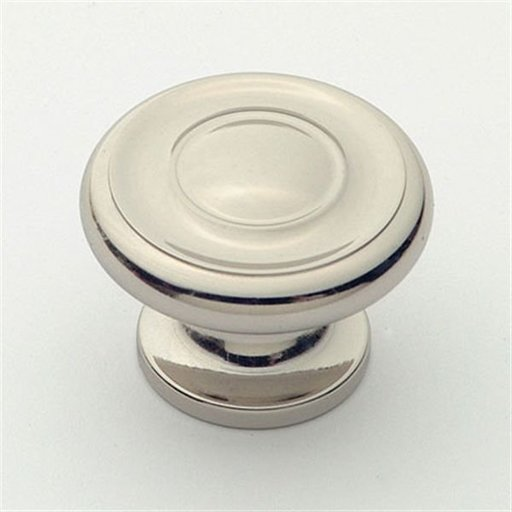"View a Larger Image of Knob, Polished Nickel, 1-1/2"" Diameter, 1050PN"