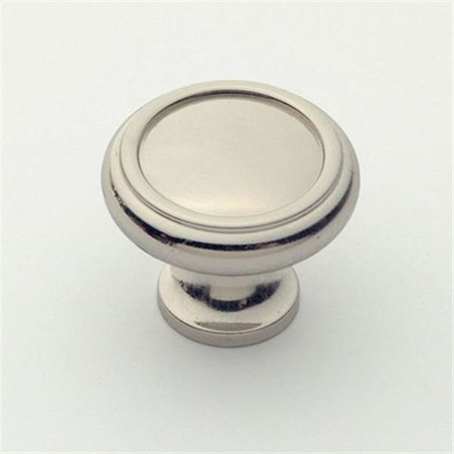"""View a Larger Image of Knob, Polished Nickel, 1-1/4"""" Diameter, 1151PN"""