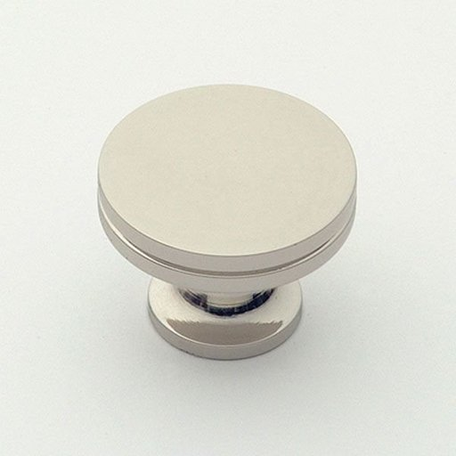 """View a Larger Image of Knob, Polished Nickel, 1-1/4"""" Diameter, 1152PN"""
