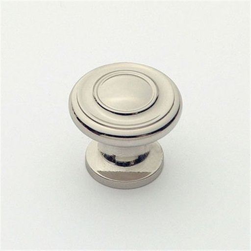 "View a Larger Image of Knob, Polished Nickel, 1"" Diameter, 1047PN"
