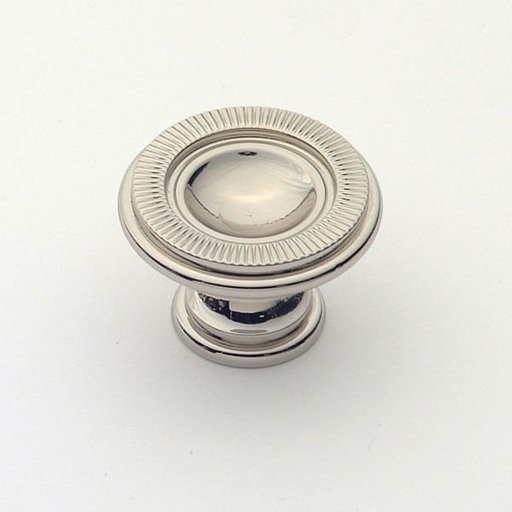View a Larger Image of Knob, Polished Nickel, 30 mm Diameter, 1170PN