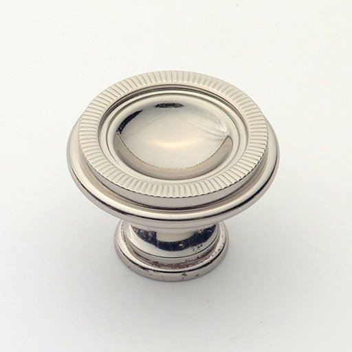 View a Larger Image of Knob, Polished Nickel, 35 mm Diameter, 1171PN