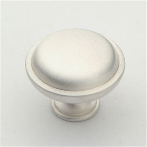 """View a Larger Image of Knob, Satin Silver, 1-1/2"""" Diameter, 1146SS"""