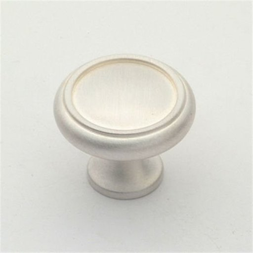 "View a Larger Image of Knob, Satin Silver, 1-1/4"" Diameter, 1151SS"