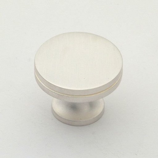 "View a Larger Image of Knob, Satin Silver, 1-1/4"" Diameter, 1152SS"