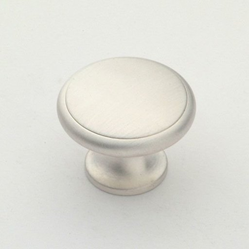 "View a Larger Image of Knob, Satin Silver, 1-1/4"" Diameter, 1164SS"