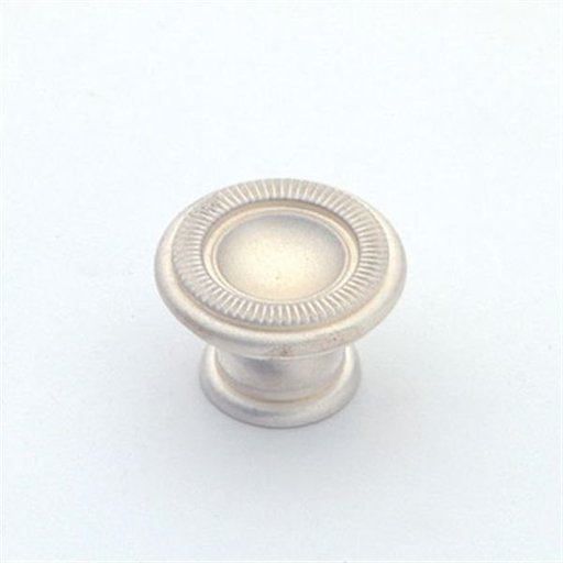 View a Larger Image of Knob, Satin Silver, 25 mm Diameter, 1169SS
