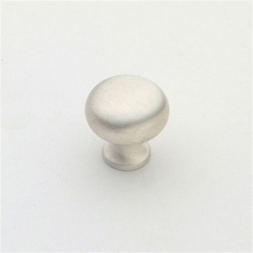 """View a Larger Image of Knob, Satin Silver, 3/4"""" Diameter, 1066SS"""