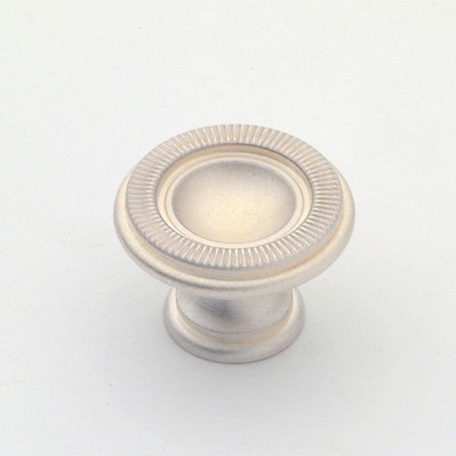 View a Larger Image of Knob, Satin Silver, 30 mm Diameter, 1170SS
