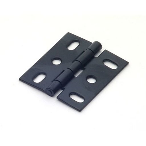View a Larger Image of Matte Black Mortise Hinge, 2505MB