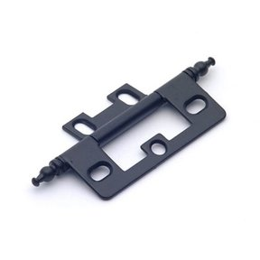 Matte Black Non-mortise Hinge, 2512MB