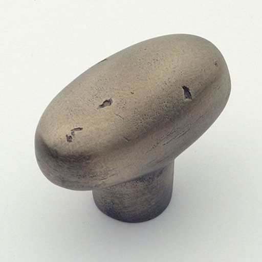 View a Larger Image of Montana Collection Oval Knob, Aged Iron, Diameter, 1464AI