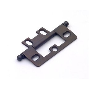 Oil Rubbed Bronze Non-mortise Hinge, 2511BZ