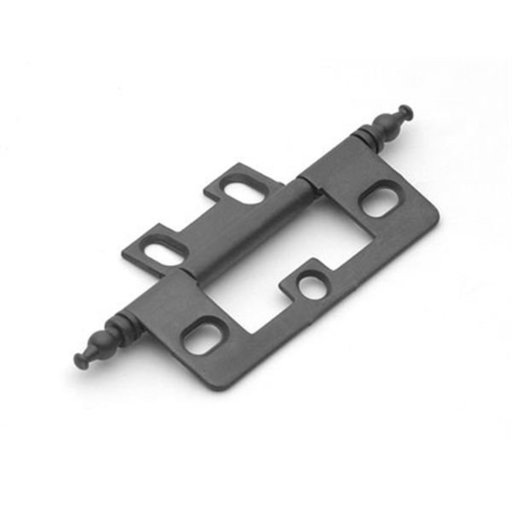 View a Larger Image of Oil Rubbed Bronze Non-mortise Hinge, 2512BZ