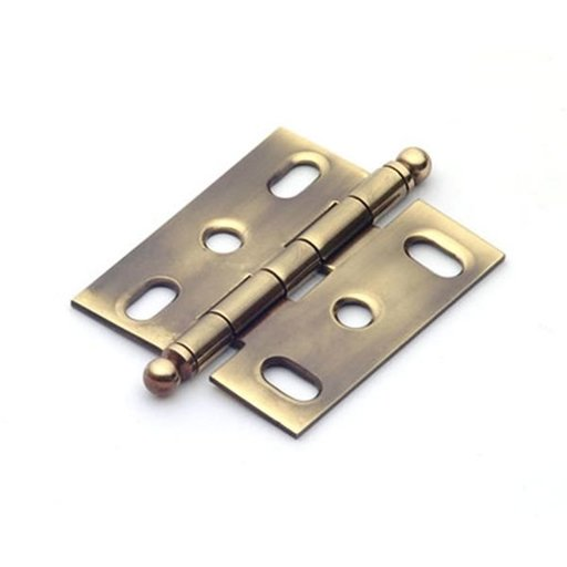 View a Larger Image of Polished Antique Mortise Hinge, 2501PA