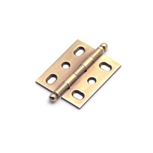 View a Larger Image of Polished Antique Mortise Hinge, 2571PA