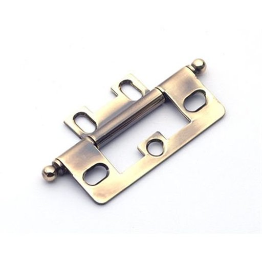 View a Larger Image of Polished Antique Non-mortise Hinge, 2511PA