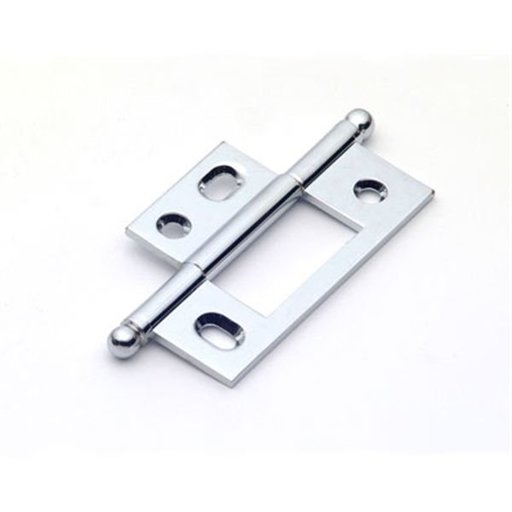View a Larger Image of Polished Chrome Non-mortise Hinge, 2581PC