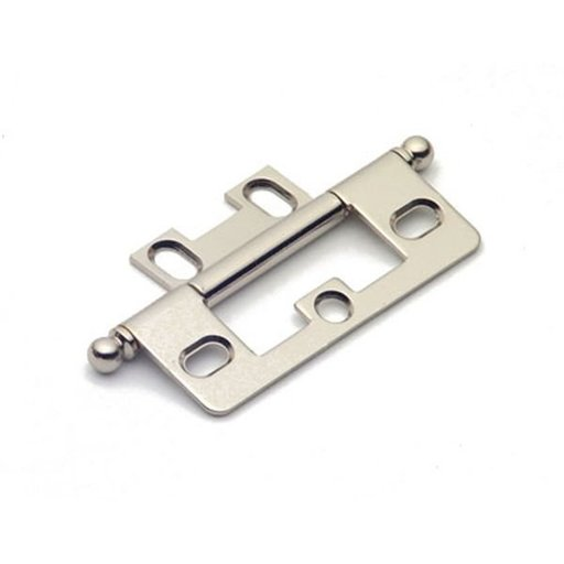 View a Larger Image of Polished Nickel Non-mortise Hinge, 2511PN