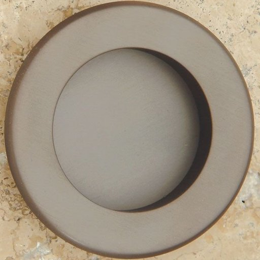View a Larger Image of Round Flush Pull, Oil Rubbed Bronze, 9715BZ