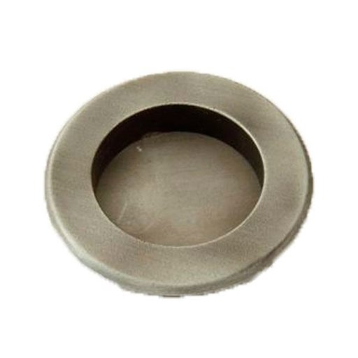 View a Larger Image of Round Flush Pull, Weathered Pewter, 9715WP