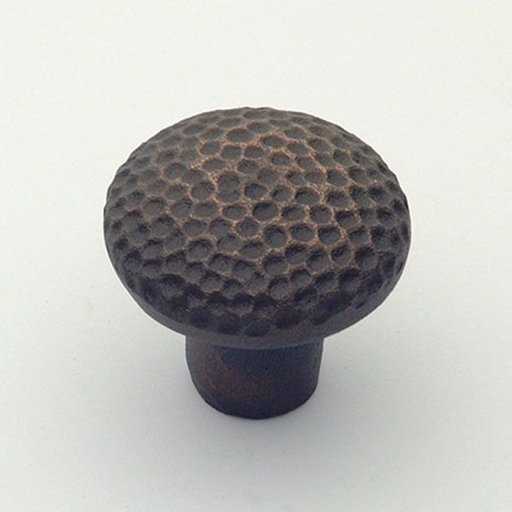 "View a Larger Image of Santa Fe Knob, Aged Bronze, 1-1/4"" Diameter, 1280AZ"