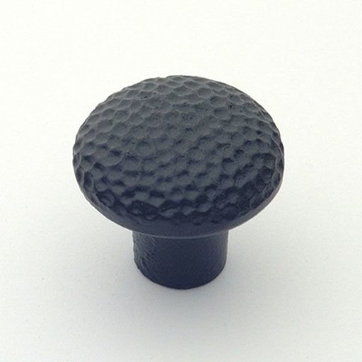 "View a Larger Image of Santa Fe Knob, Matte Black, 1-1/4"" Diameter, 1280MB"