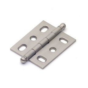 Satin Nickel Mortise Hinge, 2571SN