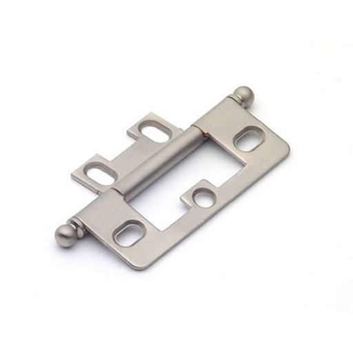 View a Larger Image of Satin Nickel Non-mortise Hinge, 2511SN
