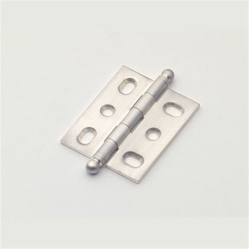 View a Larger Image of Satin Silver Mortise Hinge, 2571SS