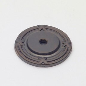 St. Georges Backplate, Oil Rubbed Bronze, 1406BZ