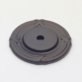 St. Georges Backplate, Oil Rubbed Bronze, 1407BZ