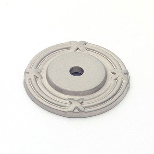 View a Larger Image of St. Georges Backplate, Satin Nickel, 1406SN