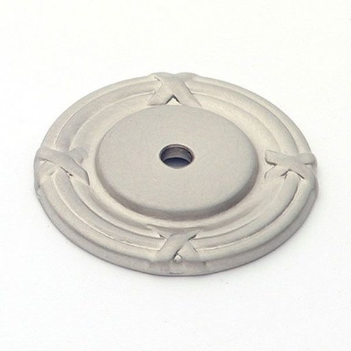View a Larger Image of St. Georges Backplate, Satin Nickel, 1407SN
