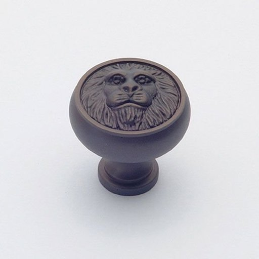 """View a Larger Image of St. Georges Knob, Oil Rubbed Bronze, 1-1/4"""" Diameter, 1451BZ"""